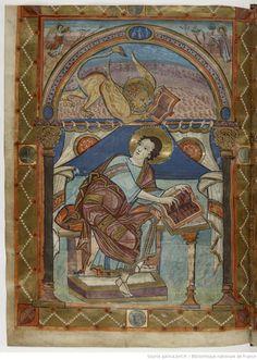 Evangelia quattuor [Évangiles de Saint-Médard de Soissons] (1v-221v). Capitulare evangeliorum (223r-235v). Date d'édition : IX Type : manuscrit Langue : Latin