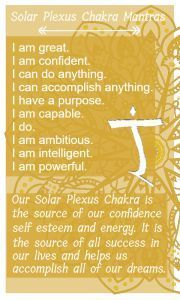 "The solar plexus chakra or the ""success"" and ""energy"" chakra and all of it's associations as well as how they are harmed + how to heal them"