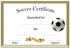 49 Best Blank Certificate Templates Images On Pinterest Football
