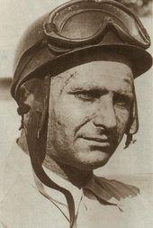 Portrait de Juan Manuel Fangio.