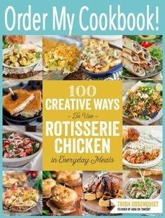 You'll love how easy it is to whip up these leftover rotisserie chicken recipes for one-dish dinners - they're fast, inexpensive, and delicious! Oven Fried Chicken, Cheesy Chicken, Chicken Broccoli, Chicken Freezer, Cooked Chicken, Chicken Rice, Buffalo Chicken, Broccoli Rice, Sesame Chicken