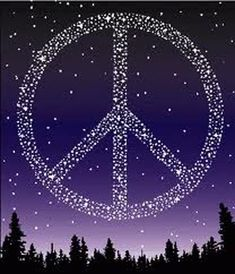 make a wish for peace.