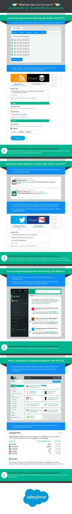 What you should and shouldn't automate for marketing success #Marketing #automation