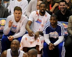 Blake Griffin, CP3, and Deandre Jordan