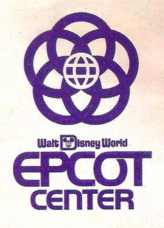 "Love this! It's the original logo for EPCOT when it opened as EPCOT Center in 1982... (EPCOT FACTS: Walt Disney was designing EPCOT when he died in the 1960's. It was never meant to be a theme park. The Experimental Prototype Community Of Tomorrow (an acronym) was supposed to be a real community where people would ""live, work, and play."" It was meant to use all of the most cutting edge technologies and serve as an example of what human kind could accomplish in the best circumstances.) <3 Walt Disney World Orlando, Disney World Rides, Disney Trips, Disney Parks, Disney Designs, Disney Ideas, Epcot Center, How To Motivate Employees, Tokyo Disneyland"