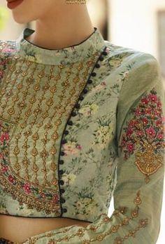 25 Blouse Back Designs You Can Actually Get Your Local Tailor To Do - Choli Designs, Sari Blouse Designs, Fancy Blouse Designs, Dress Neck Designs, Blouse Styles, Blouse Designs Wedding, Red Lehenga, Anarkali, Lehenga Choli
