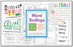 Word endings unit
