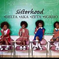 Let us move away from all European influence. Africans civilized the greeks. Let's instill in our children that being black is glorious and powerful. These are the chosen children of the Most High God, from the tribe of Judah. Aka Sorority, Alpha Kappa Alpha Sorority, Sorority Life, Sorority And Fraternity, Sorority Sisters, Omega Psi Phi, Zeta Phi Beta, Delta Sigma Theta, Delta Girl