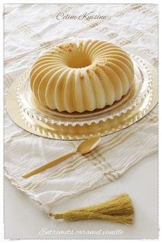 Entremets caramel au beurre salé et vanille