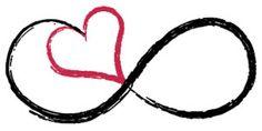 Infinity Love Temporary Tattoo