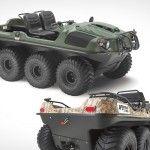Argo 8x8 750HDi Amphibious Vehicle