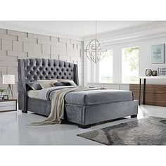 Bed Frames & Divan Bases Fast Deliver Windsor Velvet Upholstered Fabric Bed Frame With Storage Single Double King Size Furniture
