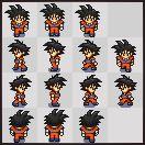 Gif animado do Goku
