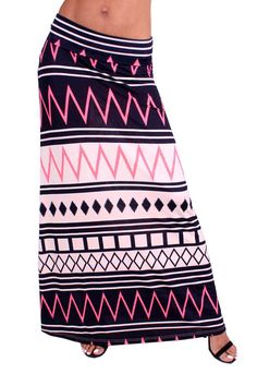 95%RAYON 5% SPANDEX PRINT SKIRT-Blk/Pink  MADE IN  USA https://www.facebook.com/groups/TheChicShakBoutique/