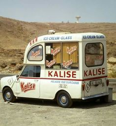 Mini Ice Cream Van. Kalise.