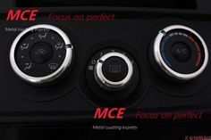 MCE Air Conditioning Ring Cover Trim Sliver for Toyota GT86  BRZ FRS #FS604