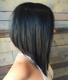 50 Trendy Inverted Bob Haircuts side-parted asymmetrical bob Graduated Bob Haircuts, Inverted Bob Haircuts, Long Bob Haircuts, Medium Bob Hairstyles, Straight Hairstyles, Natural Hairstyles, Long Graduated Bob, Pixie Haircuts, Black Hairstyles
