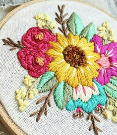 Coin Purse, Embroidery Hoops, Purses, Crochet, Stitches, Crafts, Embroidered Flowers, Bullion Embroidery, Blue Prints