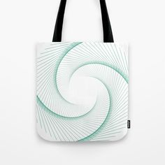Vortex Tote Bag by g-man G Man, Line Art, Reusable Tote Bags, Stuff To Buy, Line Drawings, Line Illustration, Stripes