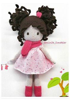 E-mail - Erika Verstraete - Outlook Crochet Doll Tutorial, Crochet Doll Pattern, Crochet Patterns, Amigurumi Patterns, Amigurumi Doll, Doll Patterns, Knitted Dolls, Crochet Dolls, Crochet Fairy