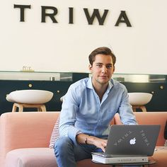 Meet the TRIWA-team! Markus who's working with our Social Media Advertising wishes you all a happy Monday!