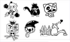 Free Cartoon Vector Characters - Animals