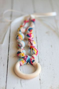 Teething Necklace | Nursing Necklace - The Vintage Honey Shop