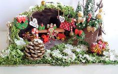 Wichtel Weihnachtsmarkt von Kleine Bastelelfe auf DaWanda.com