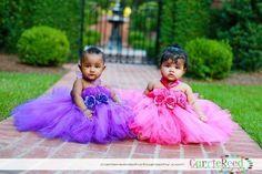 Tutu dress, pink tutu, purple tutu, tutu dress, baby tutus, girls tutu, tutu halter dress, photo props. $33.99, via Etsy.