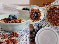 Chocolate Granola, Frühstück, breakfast, Blueberry, Bloomingville, Schokolade