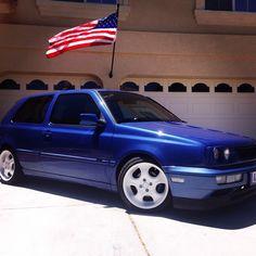 1996 Volkswagen GTI CATALINA BLUE