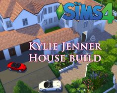 The Sims 4 - Kylie Jenner House Build CC (Part1) #sims4 #ts4cc #sims4cc #kyliejenner #sims