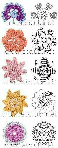 Most up-to-date Pictures Crochet Doilies vintage Suggestions STRICKEN Crochet Motif Patterns, Crochet Diagram, Crochet Designs, Irish Crochet Charts, Crochet Appliques, Crochet Doilies, Knitting Patterns, Crochet Leaves, Knitted Flowers