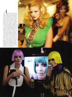 Vogue Italia January 2010 | Runway by Steven Meisel