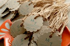 Wedding Gift Tags | 19 Unique Summer Beach Wedding Ideas