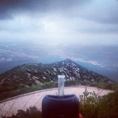 Enjoying the view with the best handheld vaporizer - ascent