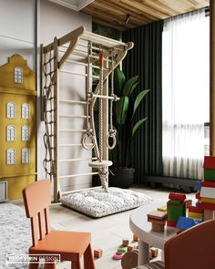 Playroom Design, Baby Room Design, Baby Room Decor, Cool Kids Bedrooms, Kid Spaces, Girl Room, Room Interior, Room Inspiration, Decoration