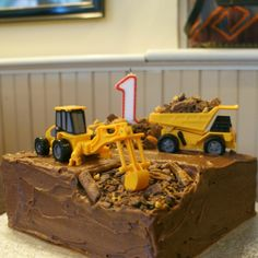 The Digger Cake
