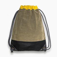 HENTEN LEATHER DRAWSTRING BAGS