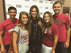 Had lots of fun with the crew today! And got to meet this girl @legitsadierob