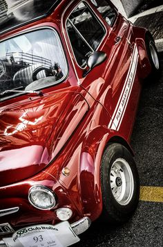 500 Abarth by Andrea Rignanese on 500px