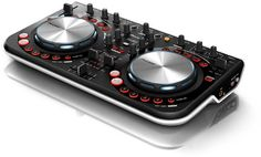 "Pioneer DDJ weGO  This is a good ""budget"" controller for beginner DJs with Pioneer DJ quality."