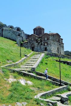 Berat, Albania. Located in central Albania, Berat bears witness to the coexistence of various religious and cultural communities down the centuries. It features a castle, locally known as the Kala, most of which was built in the 13th century, although its origins date back to the 4th century BC. (V)