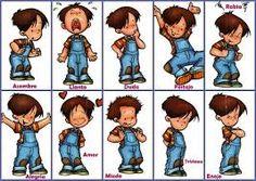 Resultado de imagen para dibujos de emociones Cartoon Drawings, Cute Drawings, Relationship Drawings, Gestalt Therapy, Feelings And Emotions, Play To Learn, A Comics, Animals For Kids, Teaching Kids