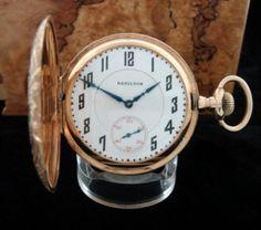 Men's 1908 Hamilton 993 Hunter Case Railroad Pocket Watch | Strickland Vintage Watches