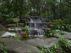 Tempinis Cascade - Imbiah Trail, Sentosa, Singapore