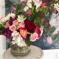 Heidi Shedlock (@heidishedlock) • Instagram photos and videos Floral Paintings, Glass Vase, Workshop, Photo And Video, Videos, Creative, Artist, Photos, Instagram