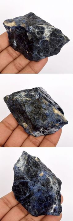 Sodalite 69179: 723 Ct. Certified Blue White Sodalite Rough Mineral Specimen Loose Gem J-6258 -> BUY IT NOW ONLY: $35.99 on eBay!