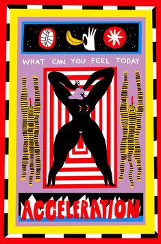 Egle Zvirblyte — Buddha Bites Into Forbidden Fruit Graphic Design Posters, Illustrations And Posters, Grafik Design, Animal Tattoos, Art Fair, Graphic Illustration, Art Inspo, Screen Printing, Original Paintings