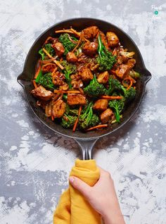 Chinese Chicken and Broccoli - Pinch Of Nom Slimming World Chicken Recipes, Slimming World Recipes Syn Free, Healthy Eating Recipes, Cooking Recipes, Healthy Dinners, Whole30 Recipes, Delicious Recipes, Healthy Food, Tasty
